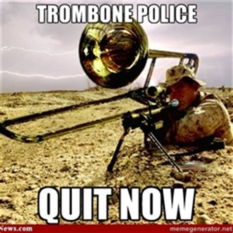 Trombone Memes - pix for gt trombone meme life throws you curves being