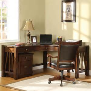 Corner Home Office Desk Riverside Home Office Curved Corner Desk 33524 Americana Furniture Waterford Ct