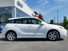 Toyota Corolla Matrix 2008 Toyota Matrix Xr Fwd Kitchener Ontario Used Car