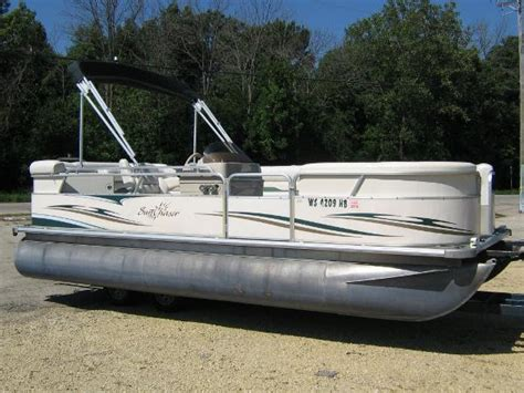 smoker craft pontoon smoker craft pontoon boat boats for sale