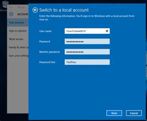 windows reset local password how to reset your forgotten password in windows 10 local