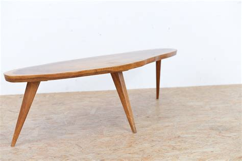 solid walnut coffee table mid century solid walnut coffee table for sale at pamono