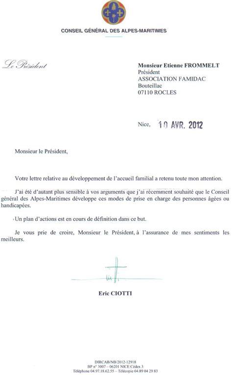 Modele De Lettre Pour Habilitation Familiale modele lettre habilitation familiale