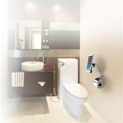 bathroom tablet stand cta digital wall mount bathroom stand for ipad and tablets
