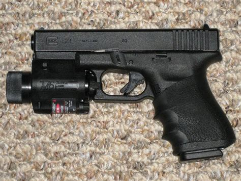 glock 17 light and laser file glock model 23 with tactical light and laser sight