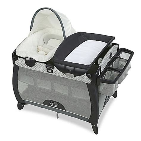 bassinet that connects to bed graco pack n play quick connect portable napper deluxe