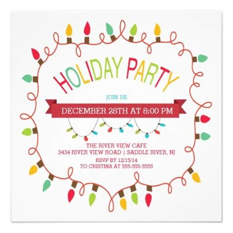 christmas holiday party invitations images  pinterest christmas parties christmas