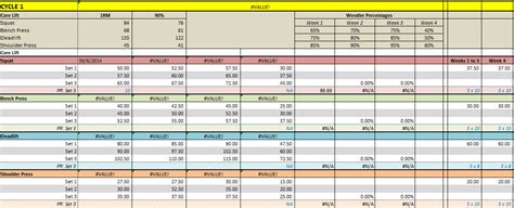 bodybuilding excel template bodybuilding excel spreadsheet 2018 budget spreadsheet