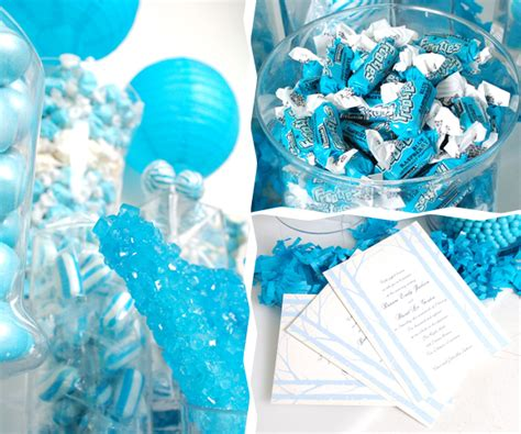 Blue Candies For Baby Shower by Blue Baby Shower Ideas Photo 3 Of 10 Catch My