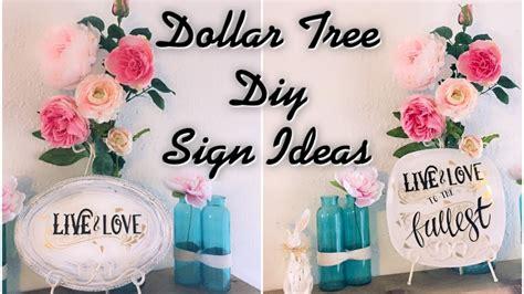 Dollar Tree Home Decor Ideas dollar tree diy signs easy home decor ideas my crafts