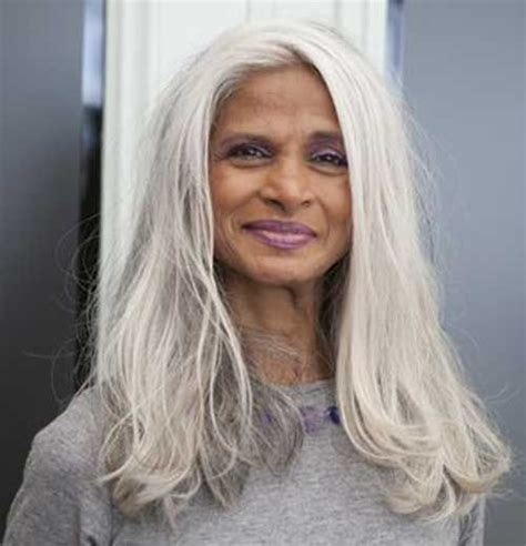 managing grey hair best 25 long silver hair ideas on pinterest going gray