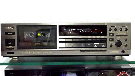 teac cassette deck teac r 919x 3 autoreverse cassette deck calibration