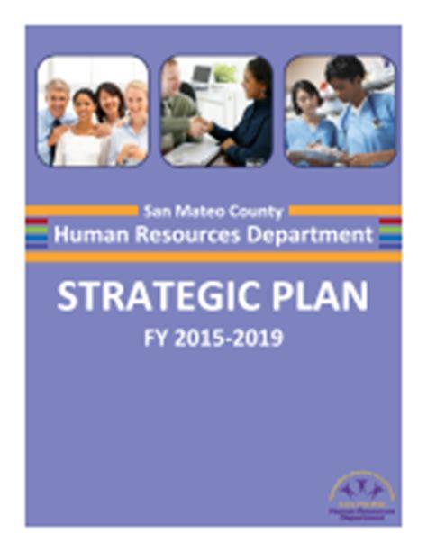 hr department strategic plan human resources department