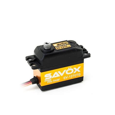 Servo Savox Sv 1270tg sav 246 x sv 1270tg digital servo high voltage w w modellbau