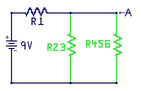 transistor horizontal c6092 solving resistor ladders 28 images fundamentals of electricity series parallel combinations