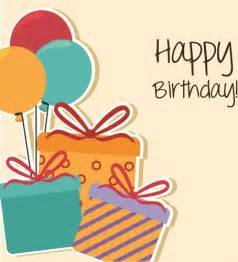 cartoon style happy birthday greeting card template free