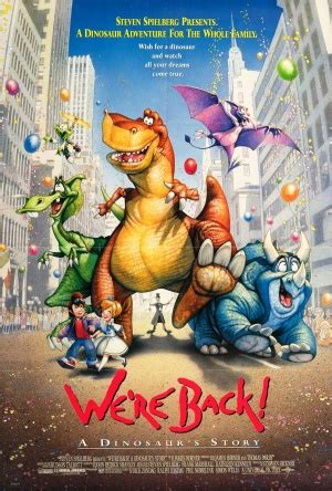 dinosaurus film bioscoop we re back a dinosaur s story 1993 moviemeter nl