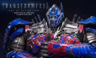 transformers optimus prime knight edition polystone statue
