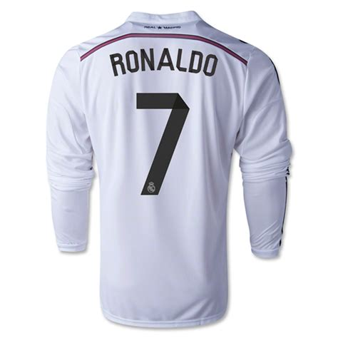 Jersey Seven Barcelona Home 1415 Medium real madrid 14 15 ronaldo 7 ls home soccer jersey