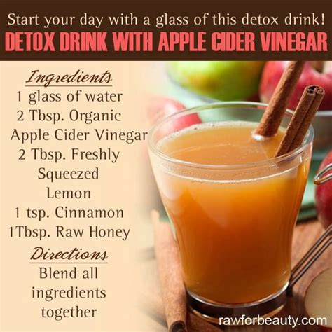Apple Cider And Water Detox by Apple Cider Vinegar Detox