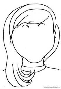 maestra neila dibujos de caras y rostros para colorear y