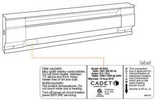 cadet baseboard heater wiring diagram electric baseboard heater schematic wiring diagrams
