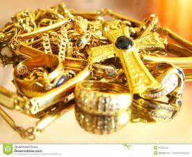 Luxury Jewelry Designers - gold jewels stock images image 10520544