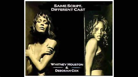 whitney houston deborah cox whitney houston same script different cast ft deborah