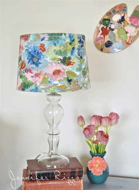 hand painted l shades 25 best ideas about painting lshades on pinterest