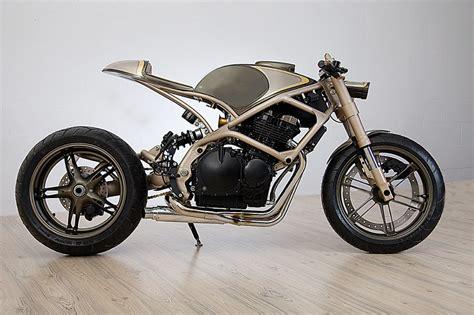 Honda Motorrad Garage L Rrach by Custom Wolf Quot Scoop Quot Caf 233 Racer Sumally サマリー