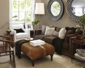 braunes wohnzimmer wandfarbe braun zimmer streichen ideen in braun freshouse