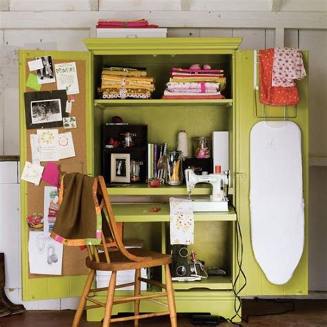 sewing armoire 1000 ideas about small sewing rooms on pinterest sewing rooms sewing room