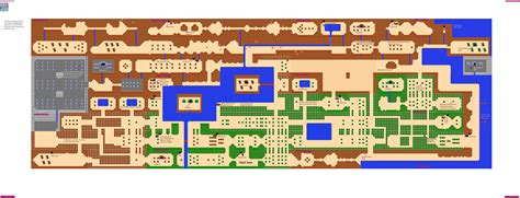 legend of zelda bomb map vgm maps and strategies