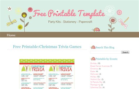 blogger template lady bug ipietoon cute blog design