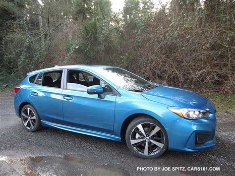 2016 subaru impreza hatchback blue 2017 subaru impreza 5 door hatchback exterior photos page