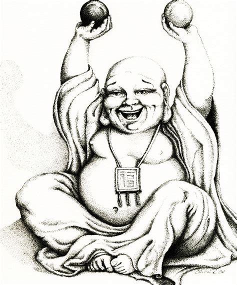 laughing buddha tattoo designs hotei the laughing buddha from etsy artist erica richards