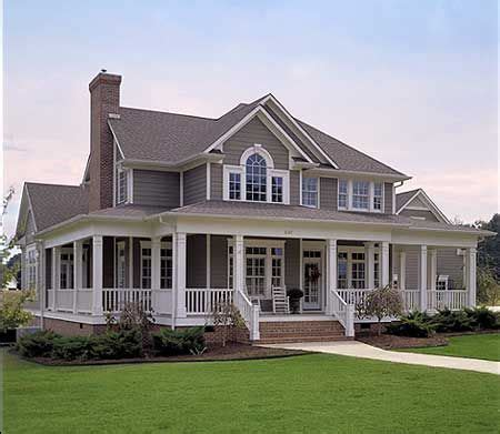 farmhouse house plans with porches plan 16804wg country farmhouse with wrap around porch