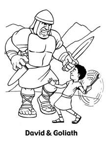 david and goliath coloring page free printable coloring pages david and goliath coloring