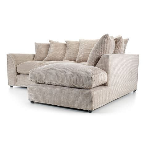 jumbo cord corner sofa next day delivery