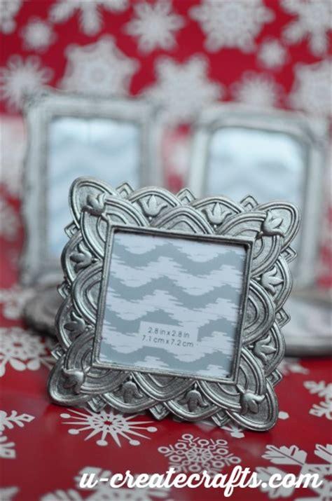 picture frame ornaments diy mini picture frame ornament u create