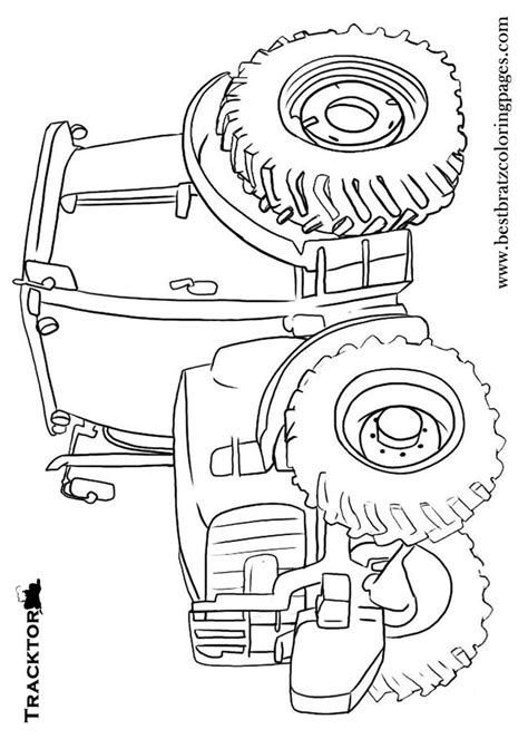 free printable tractor coloring pages for kids john