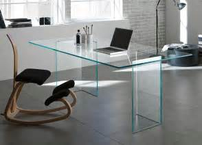 Glass Home Office Furniture Tonelli Bacco Glass Desk Glass Desks Home Office Furniture Tonelli Design