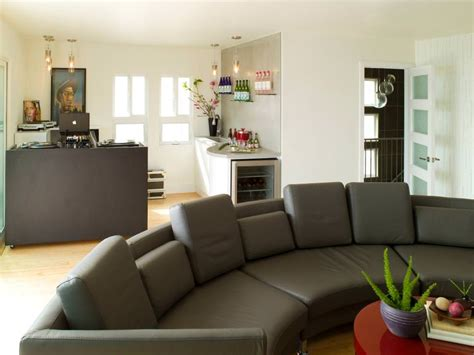 24 Gray Sofa Living Room Furniture Designs Ideas Plans Large Sofas Living Room