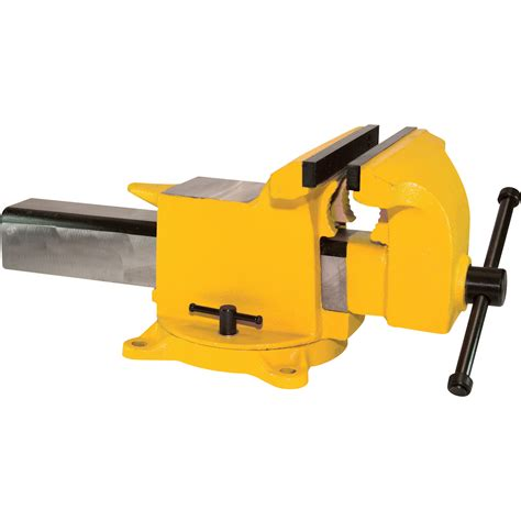 bench vise yost high visibility all steel utility combination pipe