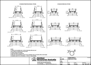 design criteria for bridges and other structures pedestrian log bridges to 8 metres length from outdoor