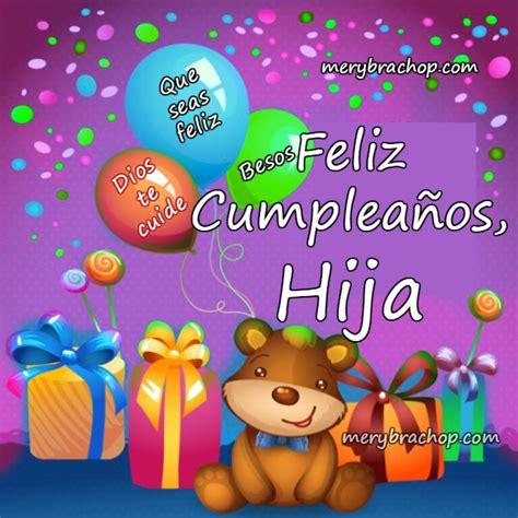 imagenes con mensajes de cumpleaños a una hija 161 feliz cumplea 241 os hija mandarsaludos com