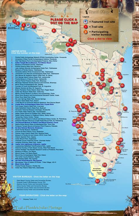 florida trail map florida indian trail map florida american history