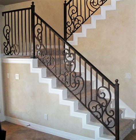 Interior Stair Railing Interior Stair Railing Traditional Staircase