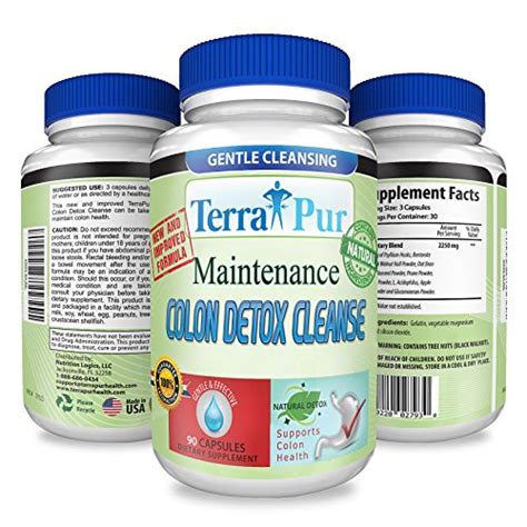 Colon Detox Vitamin C Flush by Maintenance Colon Detox Cleanse By Terrapur Use This