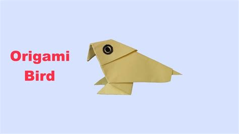 Origami Easy Bird - origami bird easy origami my crafts and diy
